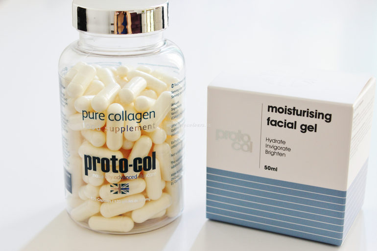 Collagen Moisturising facial gel e Pure Collagen Proto-col