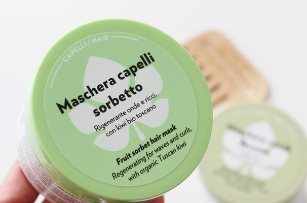 Maschera capelli sorbetto Biofficina Toscana