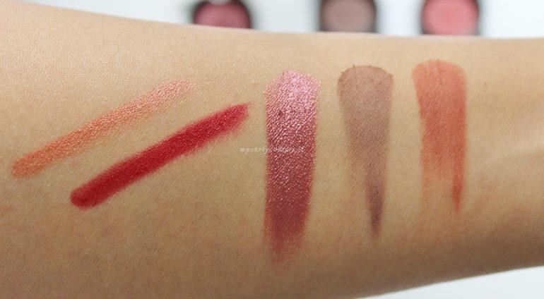 Swatch prodotti Anniversary#4 Purobio Cosmetics