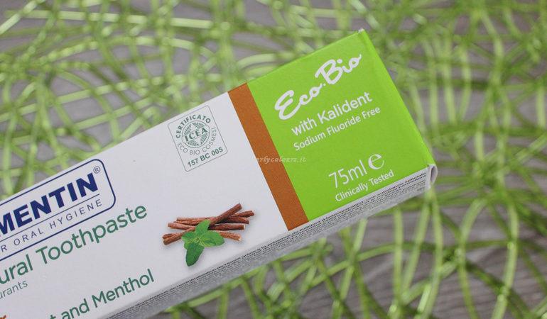 Eco bio dentifricio naturale Dentamentin dettaglio