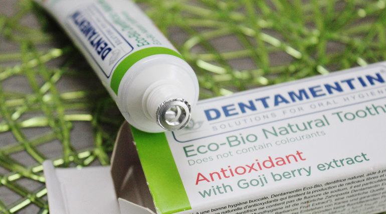 Eco bio dentifricio naturale Dentamentin dettaglio sigillo