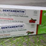 Eco bio dentifricio naturale Dentamentin Total Repair e Antiossidante