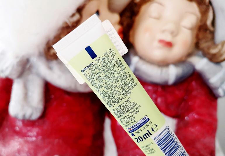 INCI Crema protettiva ossido di zinco babylove DM