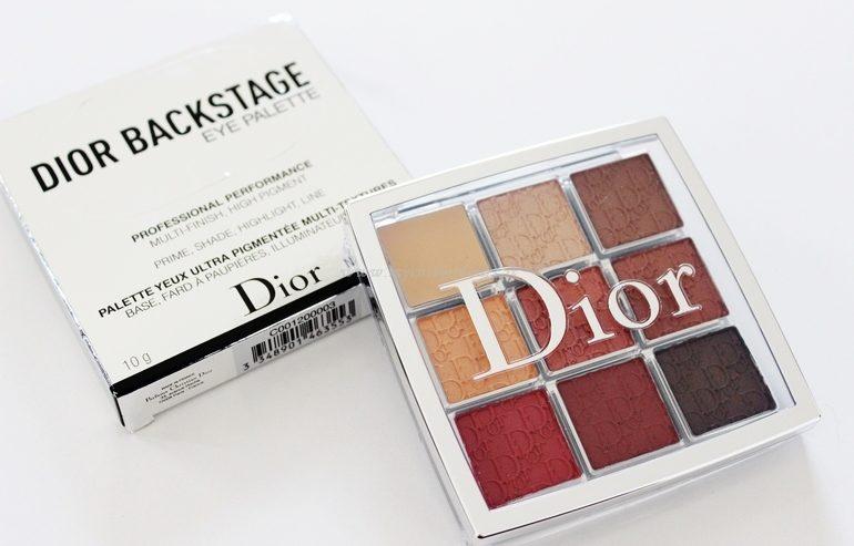 Eye Palette 03 Amber Neutrals Dior Backstage