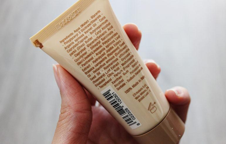 INCI crema mani antietà all' olio di argan L'Erbolario