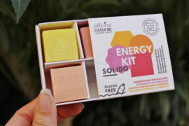 Energy Kit CO.SO. Cosmetici solidi Officina Naturae provvisorio SANA 2019