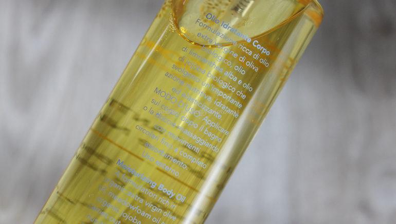 Descrizione Olio Idratante Corpo Oro di Spello