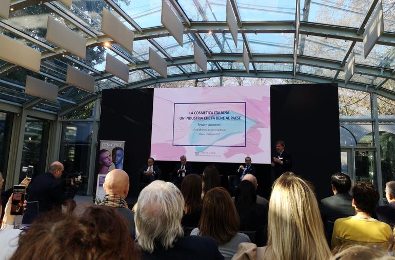 Cosmetica Italia Conferenza Stampa Cosmoprof 2020 Bologna