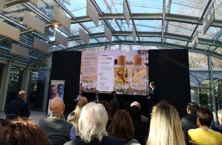 Cosmoprime Conferenza Stampa Cosmoprof 2020 Bologna Villa Necchi Milano