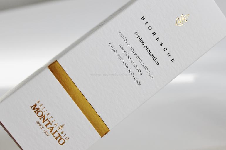 Dettaglio packaging secondario Biorescue Montalto