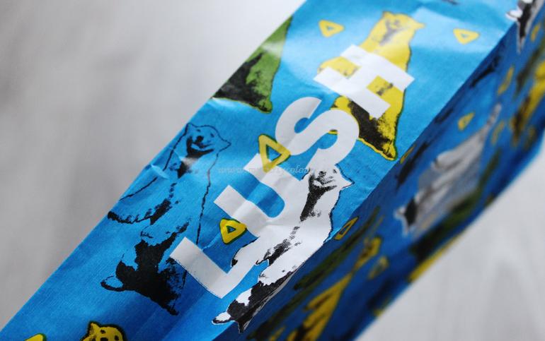 dettaglio sacchetti personalizzabili Lush