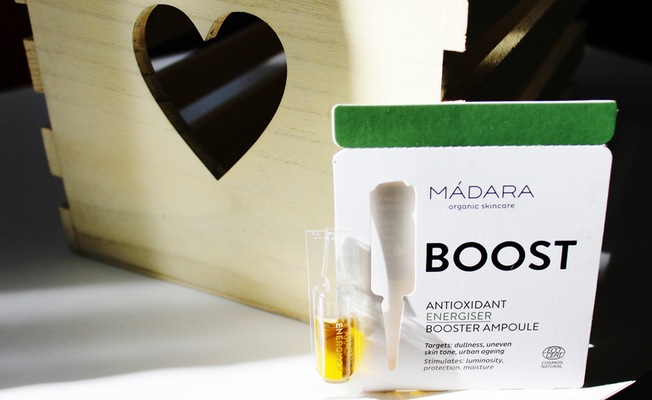 Antioxidant Energizer Booster Ampoule Mádara