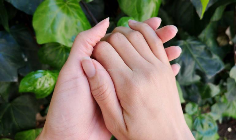 Mani mycurlycolours aprile 2020 per post consigli mani secche