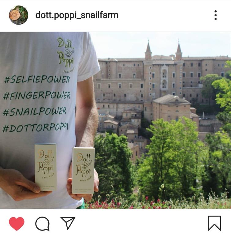 Post Instagram richiesta di aiuto Dottor Poppi