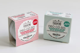 Packaging DEO CO.SO. Vanitoso e Neutro Officina Naturae