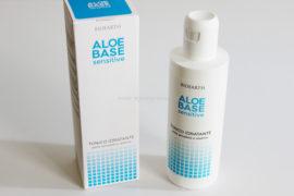 Tonico Idratante Aloebase Sensitive Bioearth packaging secondario e flacone