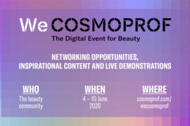 WeCosmoprof 2020 The digital eventi for beauty who - when - where