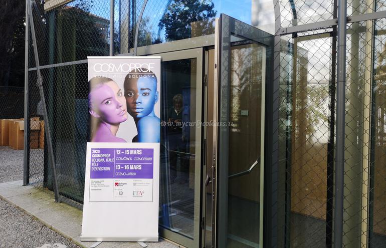 Ingresso Glass House Villa Necchi per Conferenza Stampa Cosmoprof 2020