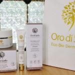Packaging Contorno Occhi e Crema Viso 24 H Oro di Spello