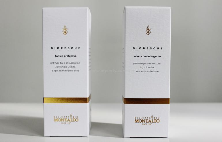 Specifiche Tonico Protettivo e Olio Ricco Detergente Biorescue Montalto