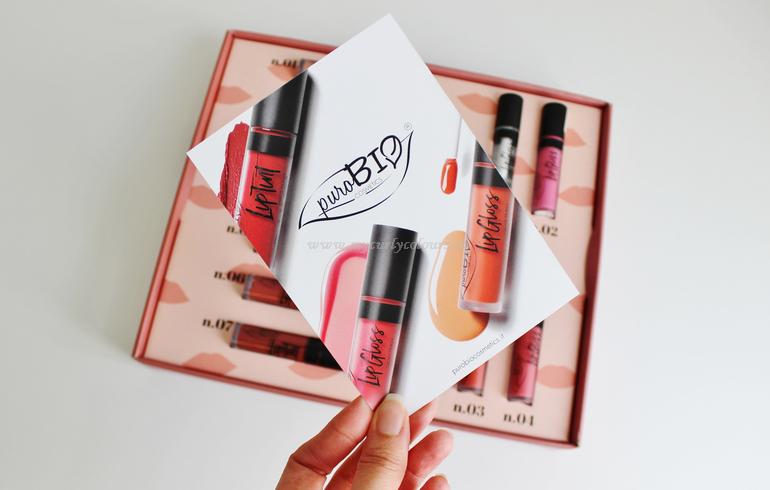 Nuovi LipGloss PuroBIO Cosmetics Spring Summer 2020