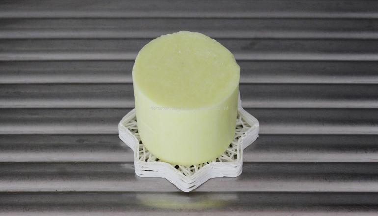 Piatti solido su portasapone biodegradabile 3D