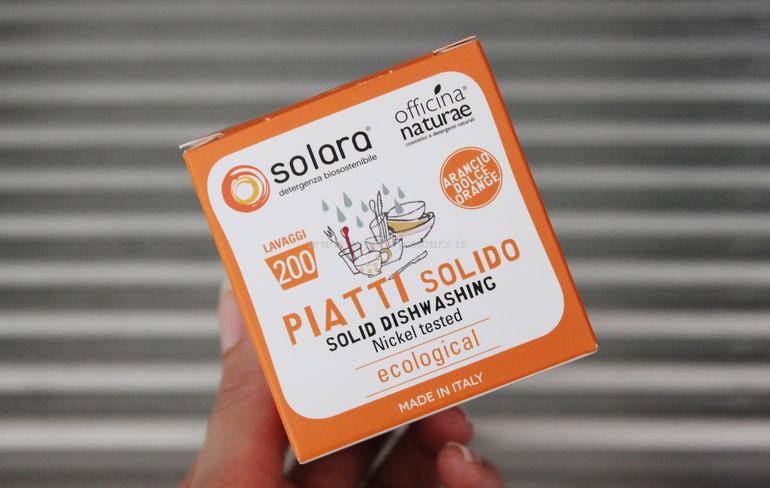 Packaging Piatti solido Solara Offcina Naturae Arancio Dolce