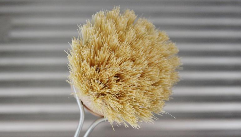 Setole spazzola piatti con manico Officina Naturae