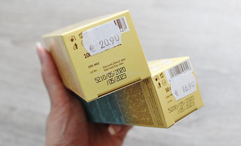Prezzo e data di scadenza solari Solar Tea