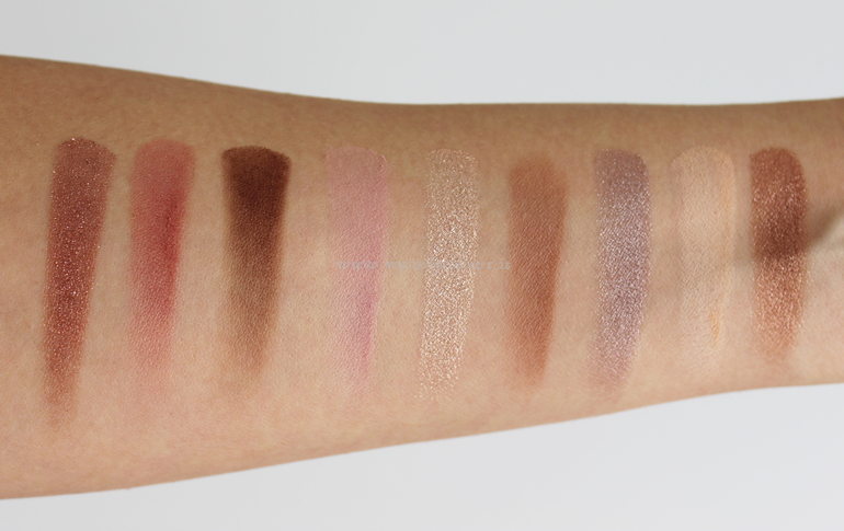 Swatch Eyes Palette Pure Beauty Astra luce naturale all' interno