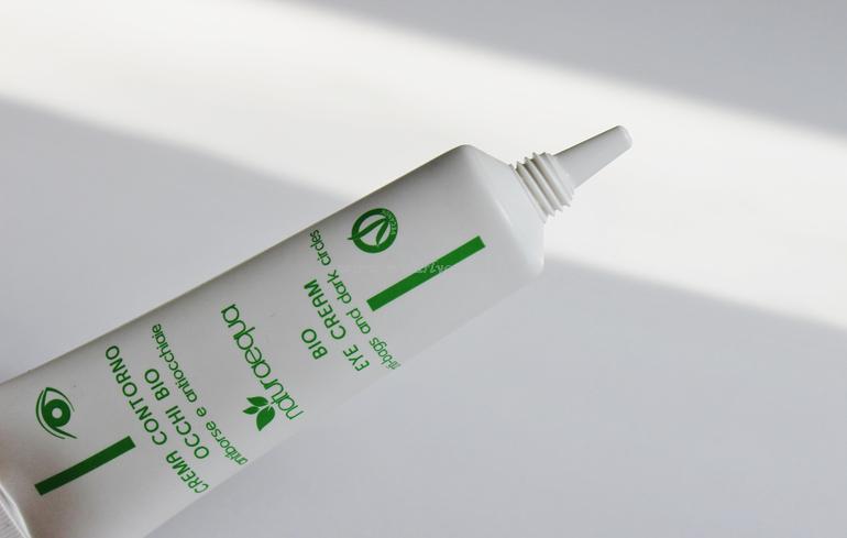 Packaging nuove creme contorno occhi Naturaequa 30 ml