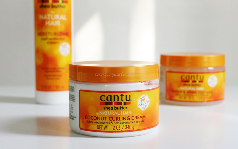 Packaging Coconut Curling Cream