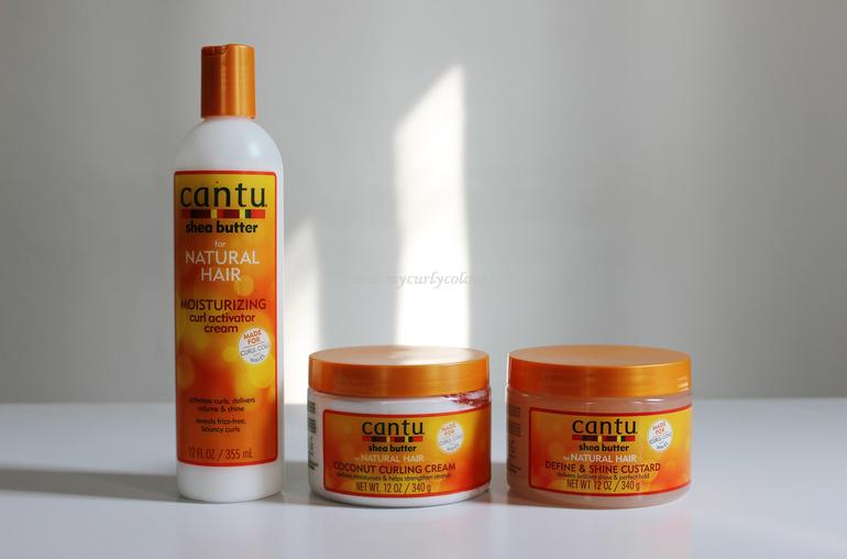 Prodotti Cantu per lo styling dei capelli ricci