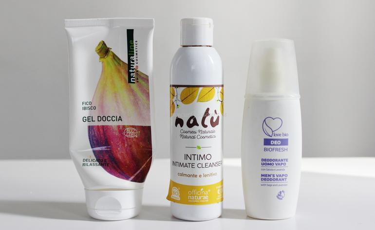 Gel Doccia Naturaline - Detergente Intimo Natù - Deodorante Uomo Bema