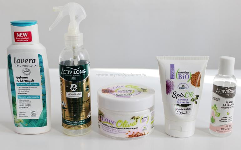 Prodotti finiti per capelli Lavera - Parentesi Bio -Activilong