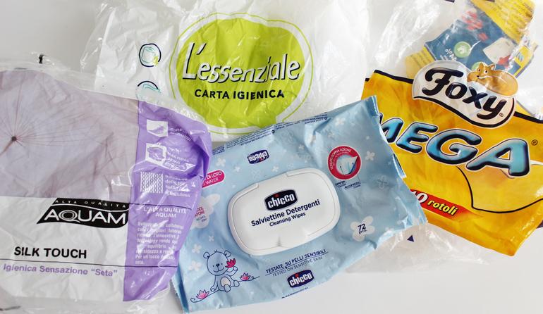 Prodotti finiti jolly - salviette detergenti e carta igienica