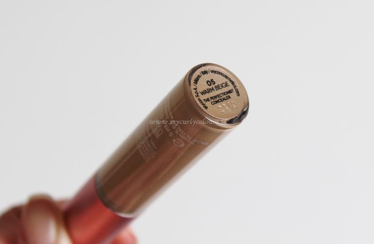 Tonalità 05 Warm Beige Correttore The Perfectionist Concealer Wycon