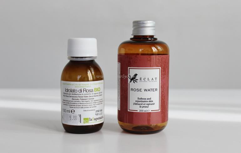 Prodotti finiti viso - Idrolato di rosa damascena La Saponaria - Eclat Natural Skincare