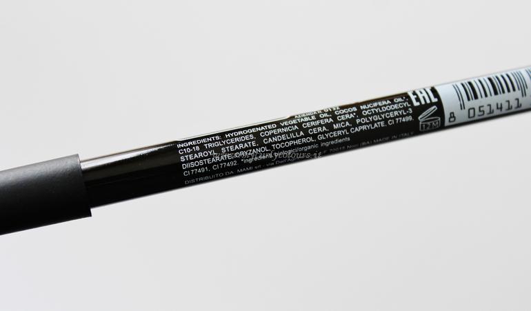 INCI matita per sopracciglia 48 PuroBIO