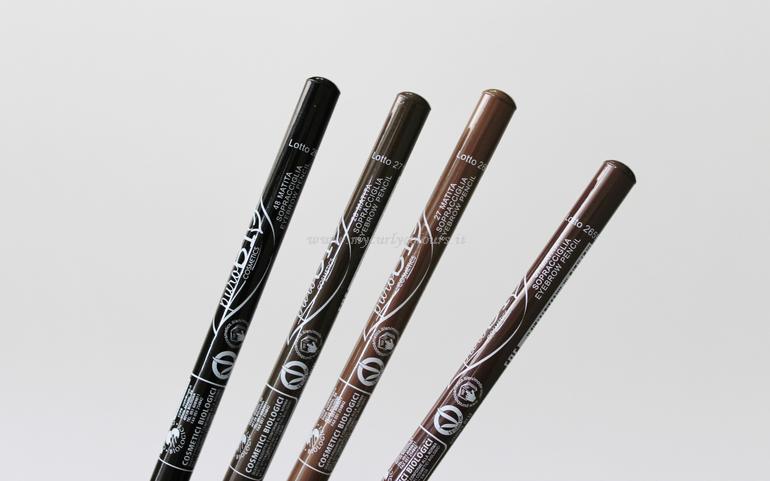 Tonalità matite per sopracciglia PuroBIO Cosmetics