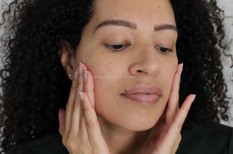 Mycurlycolours applicazione prodotti skin care