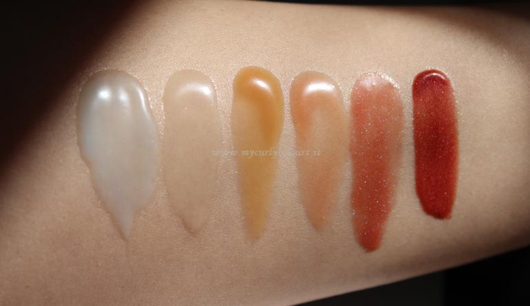 Swatch Texture Balmy PuroBIo Cosmetics